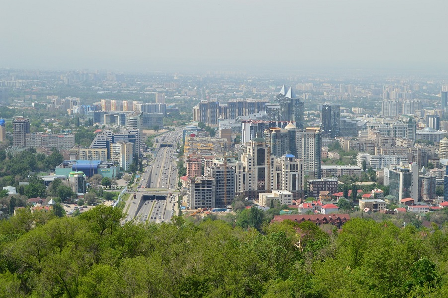 Almaty, the former capital and largest city of Kazakhstan, is the world's third cheapest city