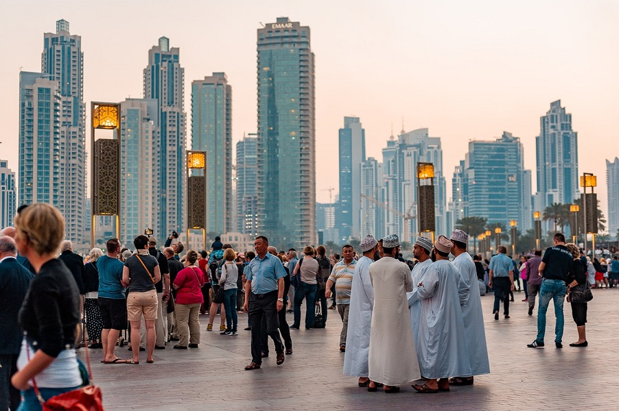 United Arab Emirates is the happiest country in Middle East and North Africa
