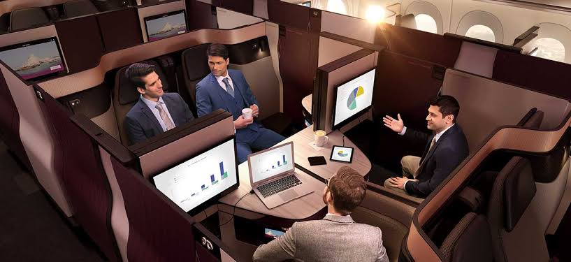 Qatar Airways has the best business class in the world