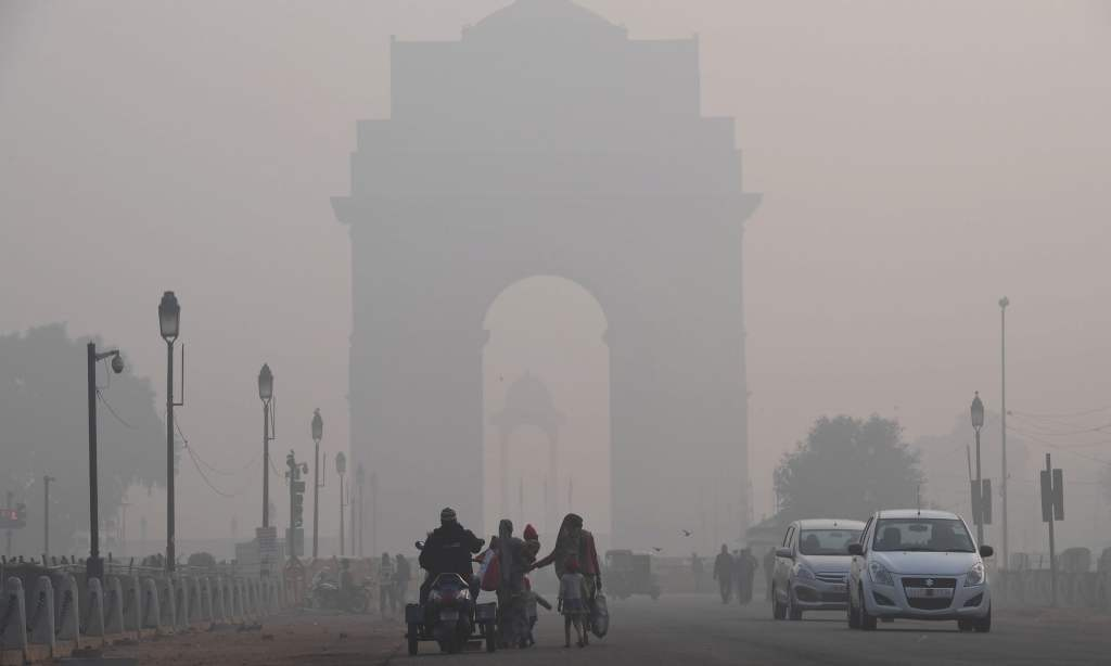 Delhi, the capital of India, is one of the most polluted cities in the world