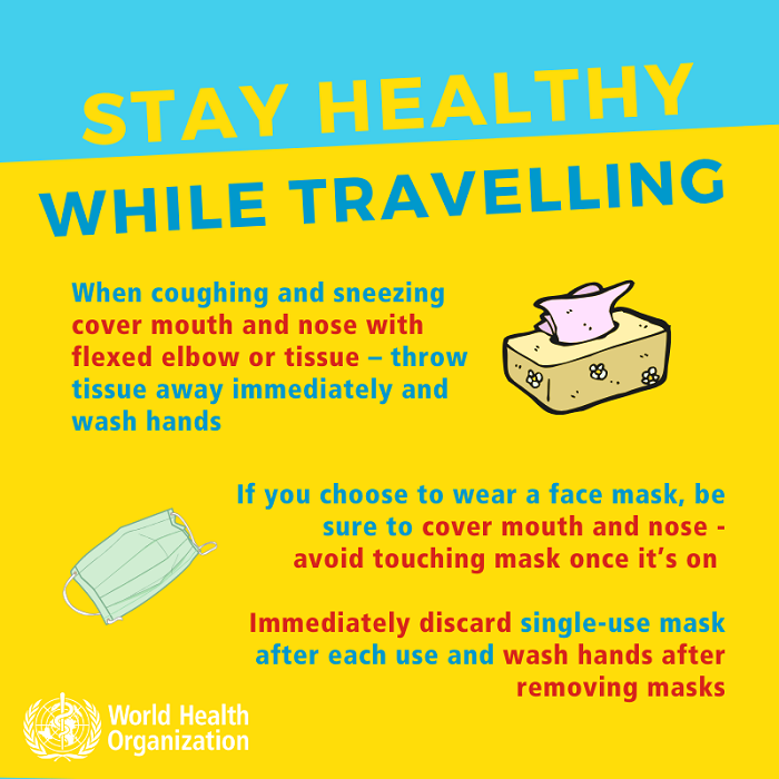Wear a mask and use a tissue to fight coronavirus
