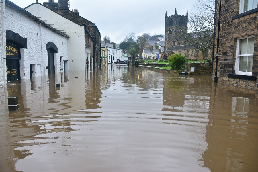 Flooding is a major threat to human life and property